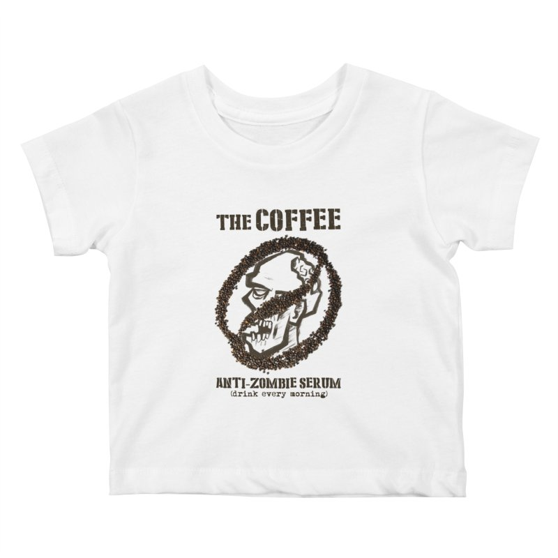The Coffee Kids Baby T-Shirt by Jordy The Gnome's Artist Shop