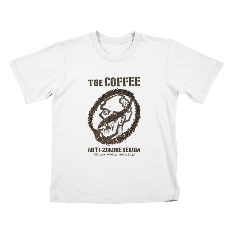 The Coffee Kids T-Shirt by Jordy The Gnome's Artist Shop