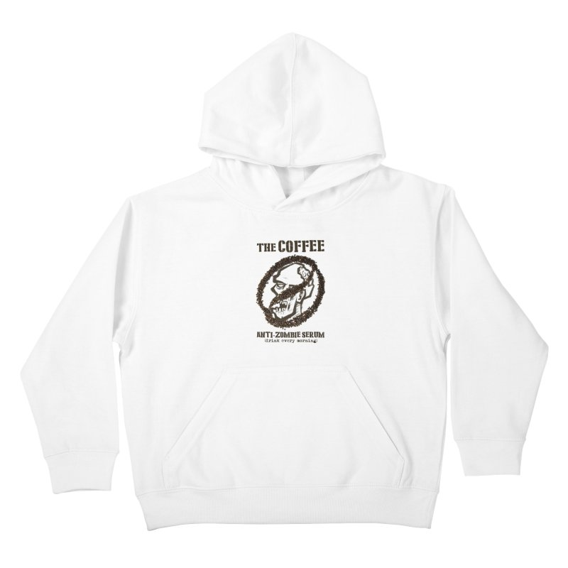 The Coffee Kids Pullover Hoody by Jordy The Gnome's Artist Shop