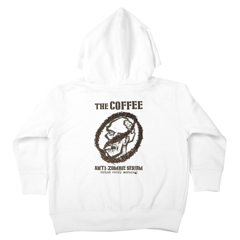 The Coffee Kids Toddler Zip-Up Hoody by Jordy The Gnome's Artist Shop