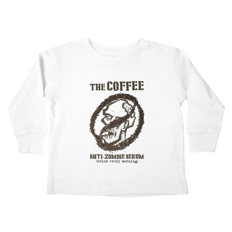 The Coffee Kids Toddler Longsleeve T-Shirt by Jordy The Gnome's Artist Shop