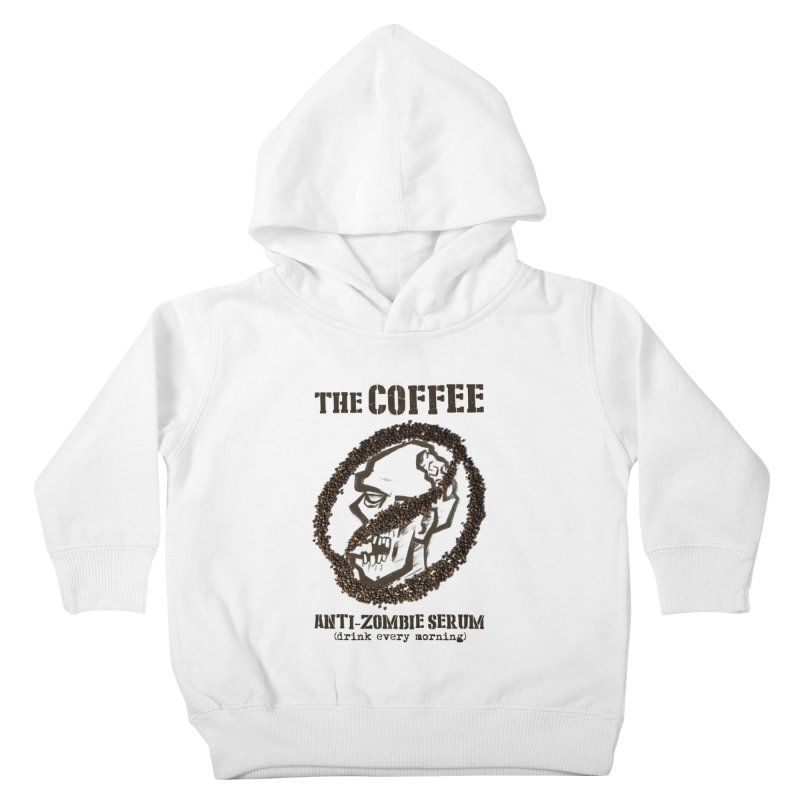 The Coffee Kids Toddler Pullover Hoody by Jordy The Gnome's Artist Shop