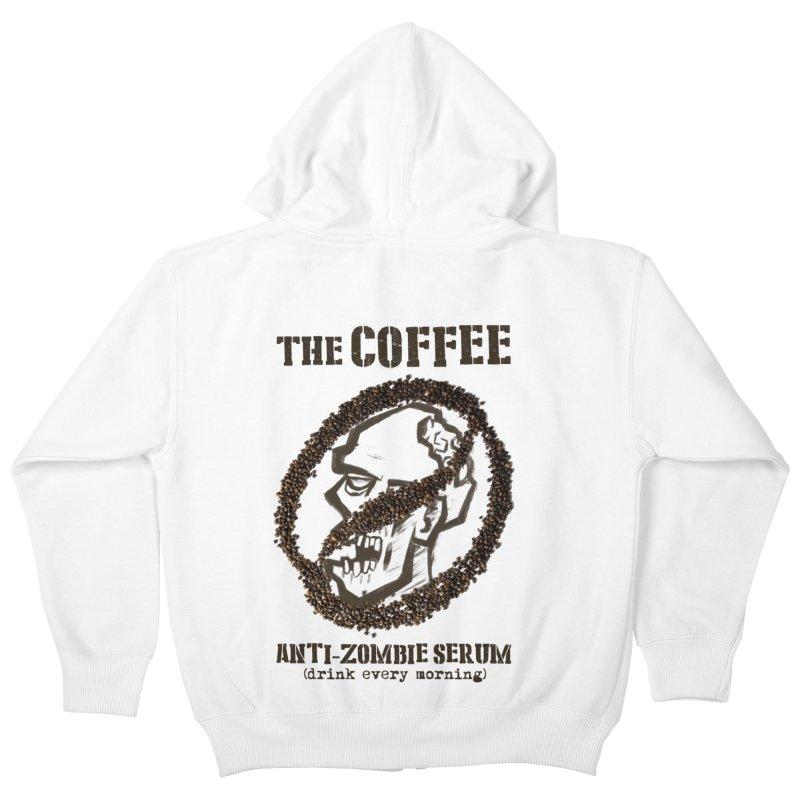 The Coffee Kids Zip-Up Hoody by Jordy The Gnome's Artist Shop