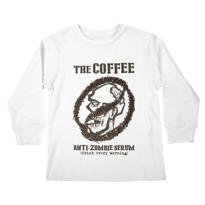 The Coffee Kids Longsleeve T-Shirt by Jordy The Gnome's Artist Shop
