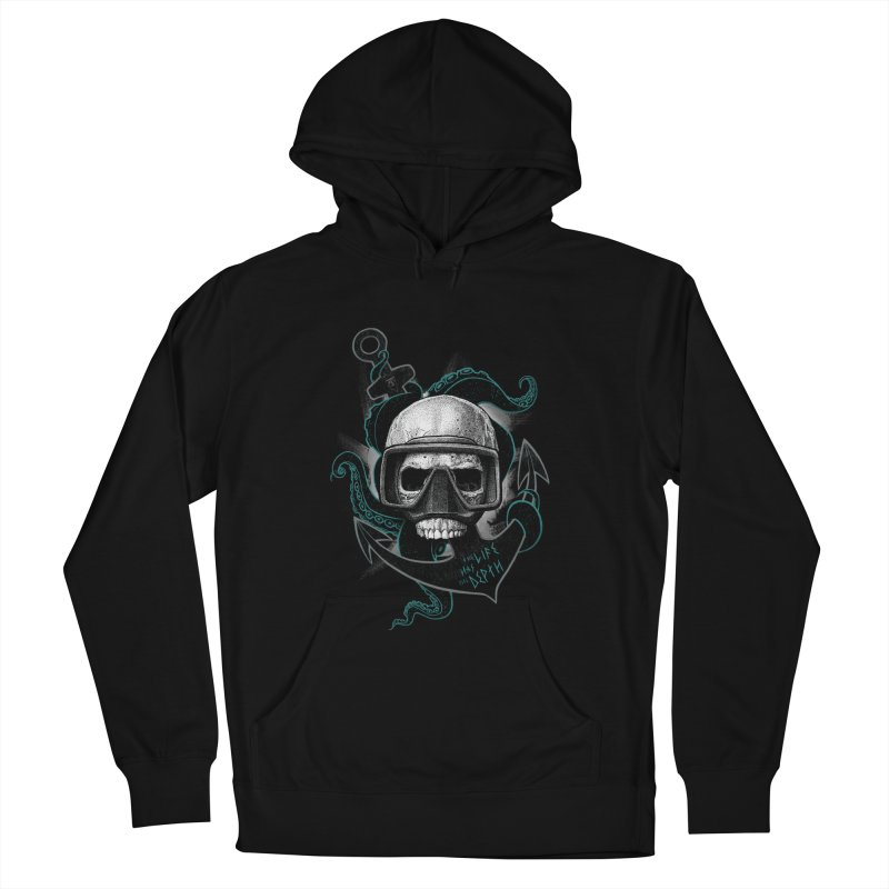 The Life Has The Depth Men's Pullover Hoody by Jordy The Gnome's Artist Shop