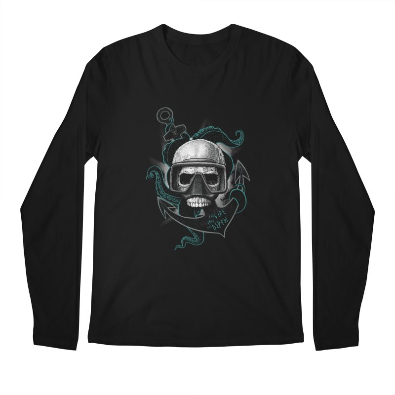 The Life Has The Depth Men's Longsleeve T-Shirt by Jordy The Gnome's Artist Shop
