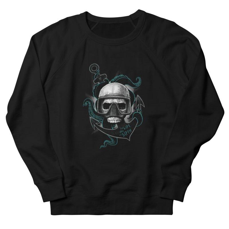 The Life Has The Depth Men's Sweatshirt by Jordy The Gnome's Artist Shop