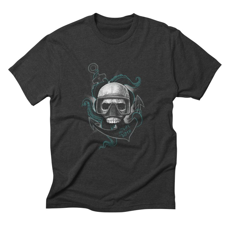 The Life Has The Depth Men's Triblend T-Shirt by Jordy The Gnome's Artist Shop