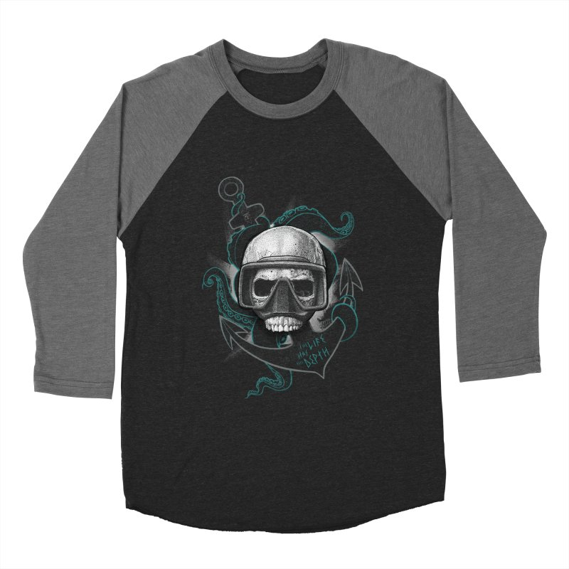 The Life Has The Depth Men's Baseball Triblend T-Shirt by Jordy The Gnome's Artist Shop