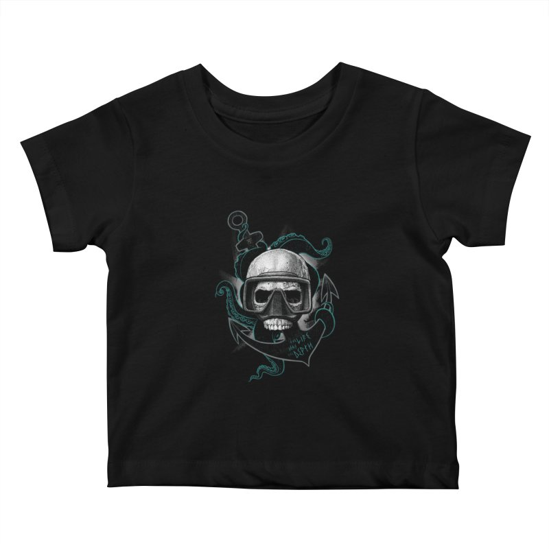 The Life Has The Depth Kids Baby T-Shirt by Jordy The Gnome's Artist Shop