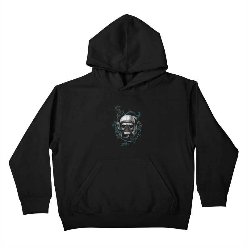 The Life Has The Depth Kids Pullover Hoody by Jordy The Gnome's Artist Shop