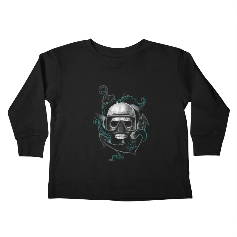 The Life Has The Depth Kids Toddler Longsleeve T-Shirt by Jordy The Gnome's Artist Shop