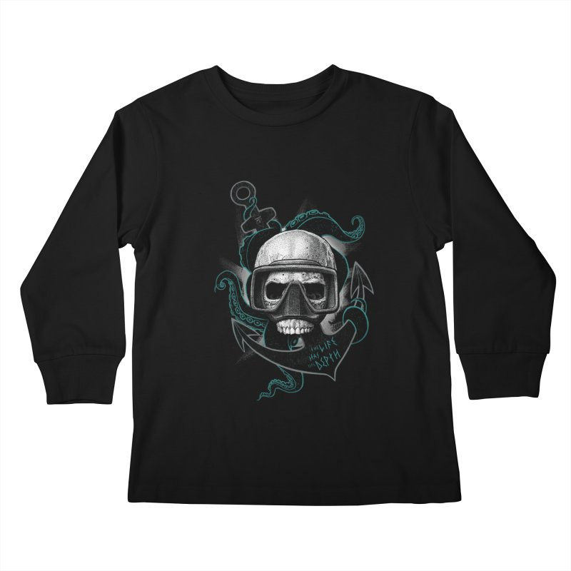 The Life Has The Depth Kids Longsleeve T-Shirt by Jordy The Gnome's Artist Shop