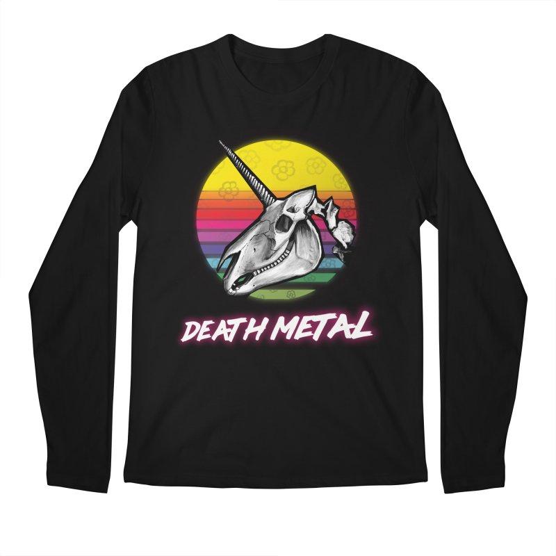 Death Metal Men's Longsleeve T-Shirt by Jordy The Gnome's Artist Shop