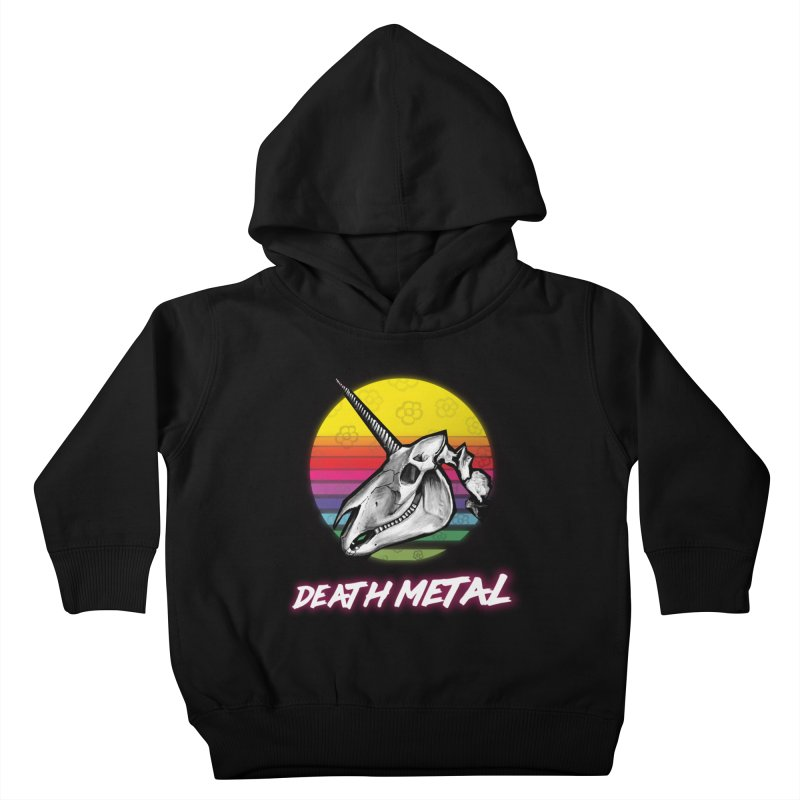 Death Metal Kids Toddler Pullover Hoody by Jordy The Gnome's Artist Shop