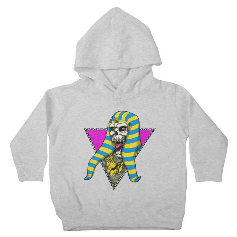 The Pharaoh Mummy Kids Toddler Pullover Hoody by NEKOLAZ