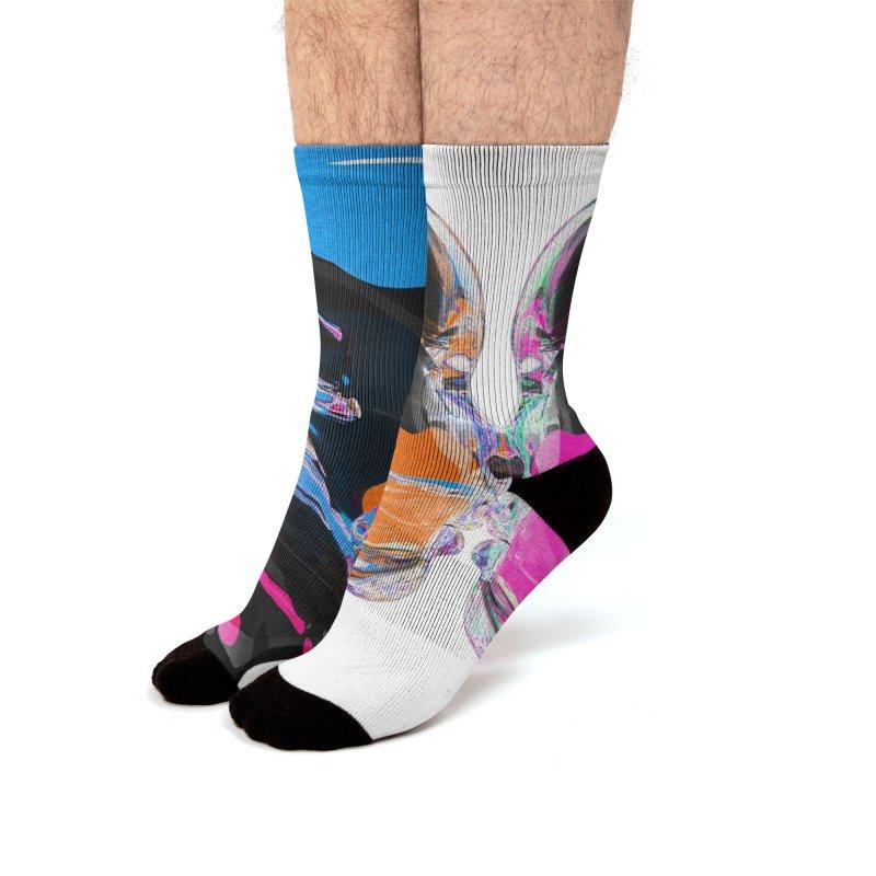lumin Men's Socks by Jorge Letona Shop