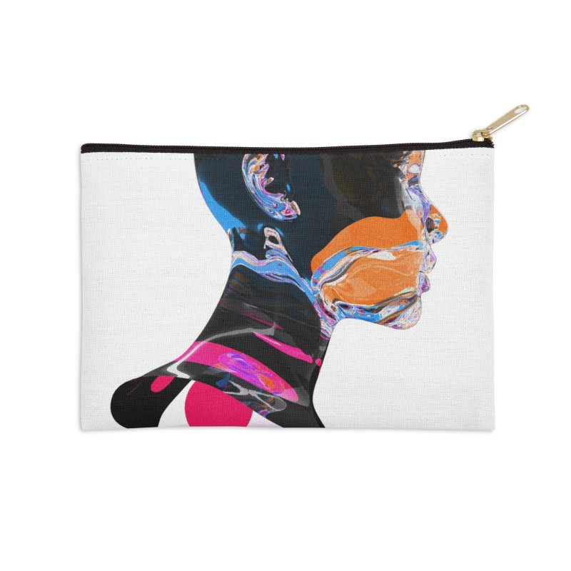 lumin Accessories Zip Pouch by Jorge Letona Shop