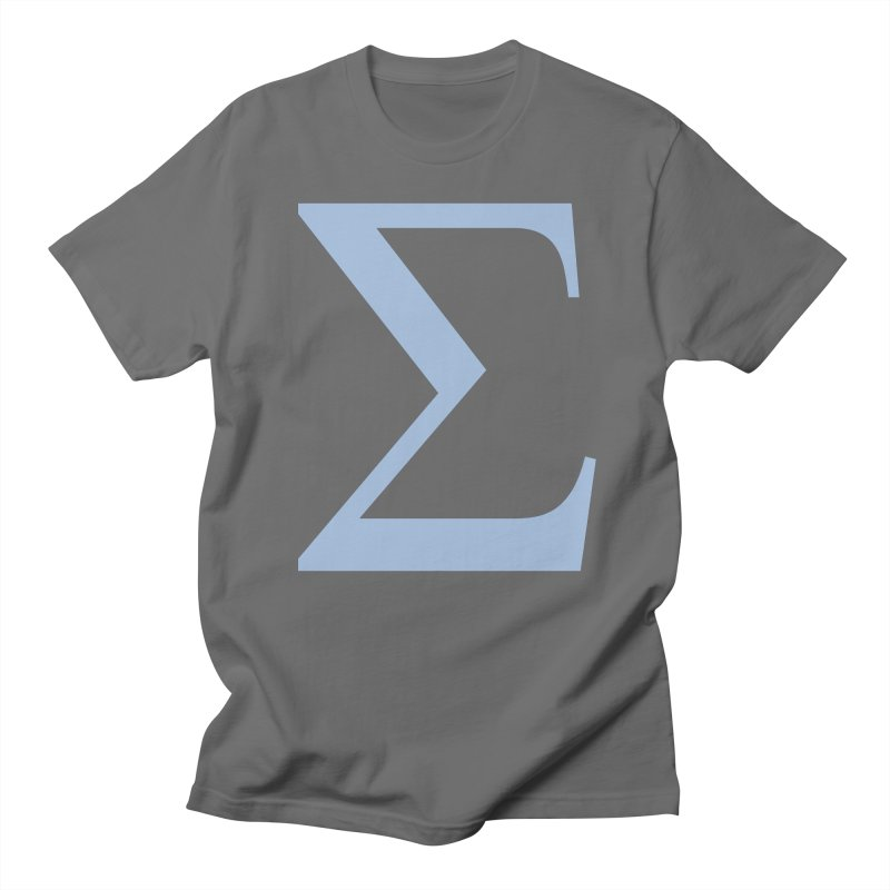 Big Sigma Men's T-Shirt by Joseph R Lallo