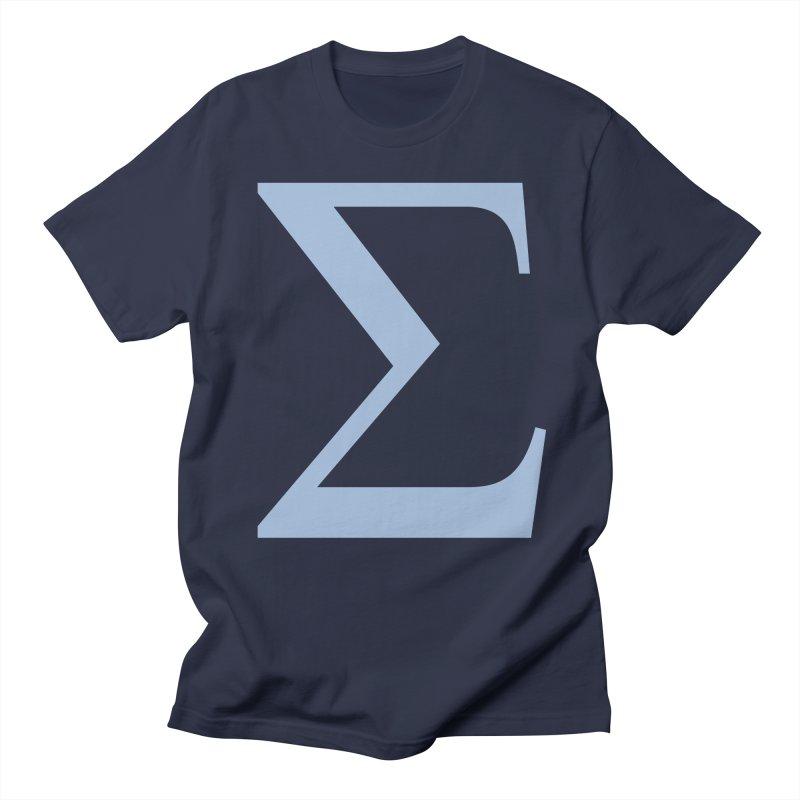 Big Sigma Men's Regular T-Shirt by Joseph R Lallo