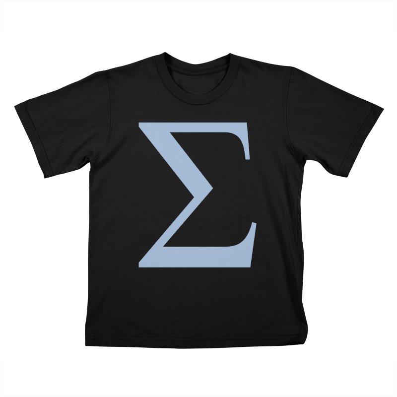 Big Sigma Kids T-Shirt by Joseph R Lallo
