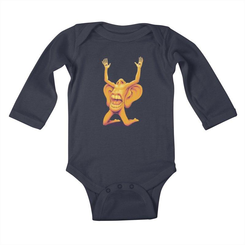 Sensory Overload Kids Baby Longsleeve Bodysuit by joshbillings's Artist Shop