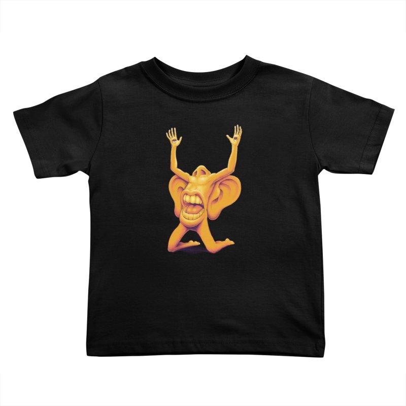 Sensory Overload Kids Toddler T-Shirt by joshbillings's Artist Shop