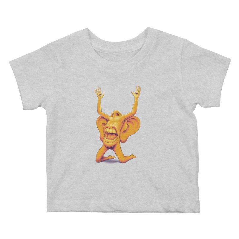 Sensory Overload Kids Baby T-Shirt by joshbillings's Artist Shop
