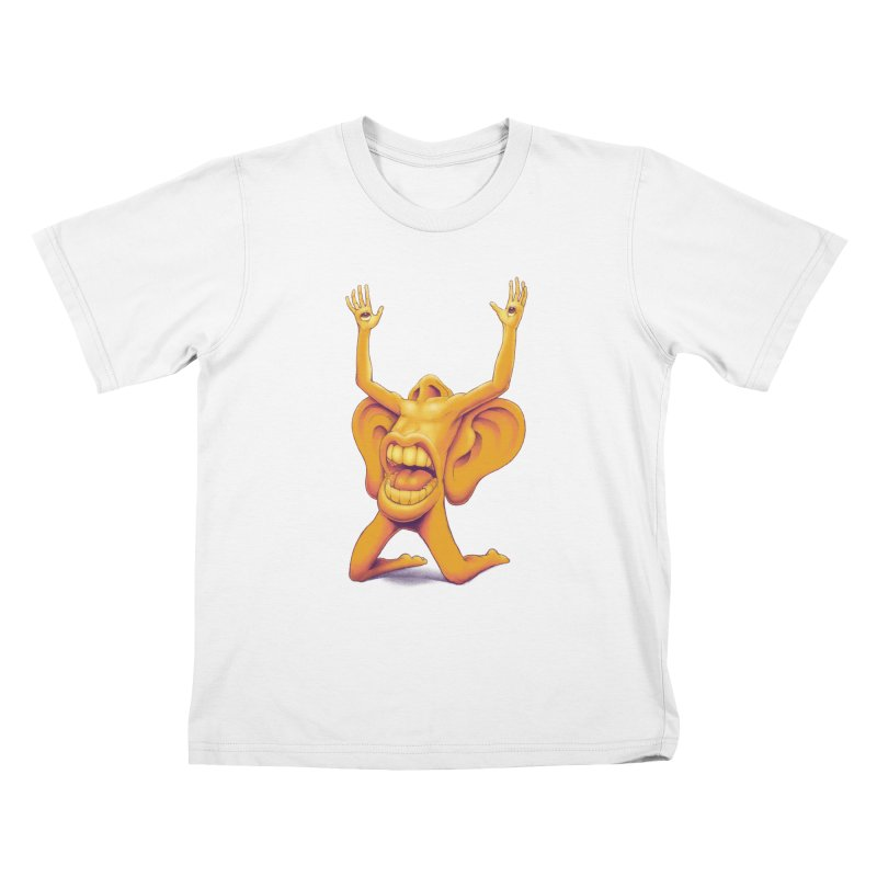 Sensory Overload Kids T-Shirt by joshbillings's Artist Shop
