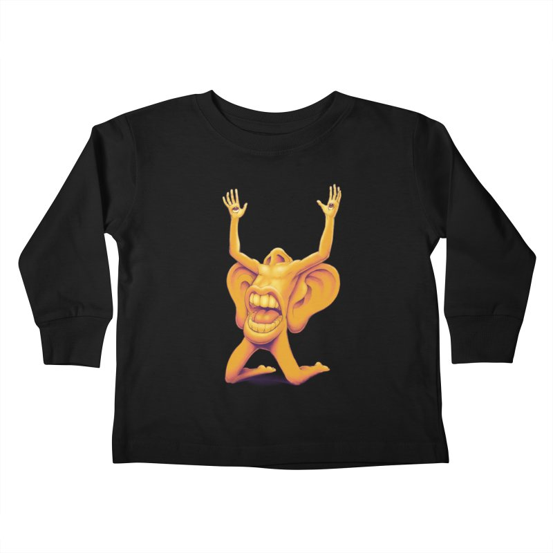 Sensory Overload Kids Toddler Longsleeve T-Shirt by joshbillings's Artist Shop
