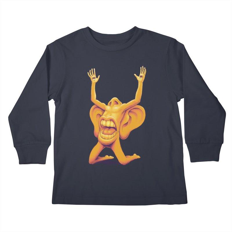 Sensory Overload Kids Longsleeve T-Shirt by joshbillings's Artist Shop