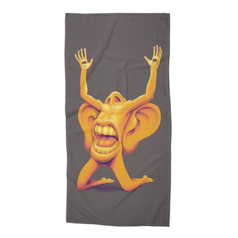 Sensory Overload Accessories Beach Towel by joshbillings's Artist Shop