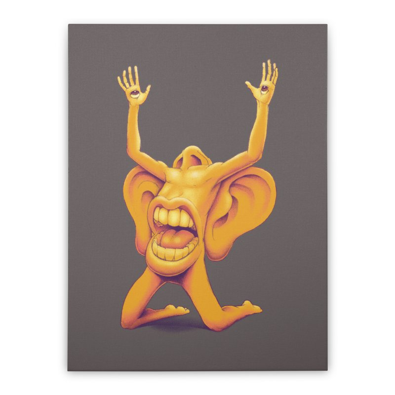 Sensory Overload Home Stretched Canvas by joshbillings's Artist Shop