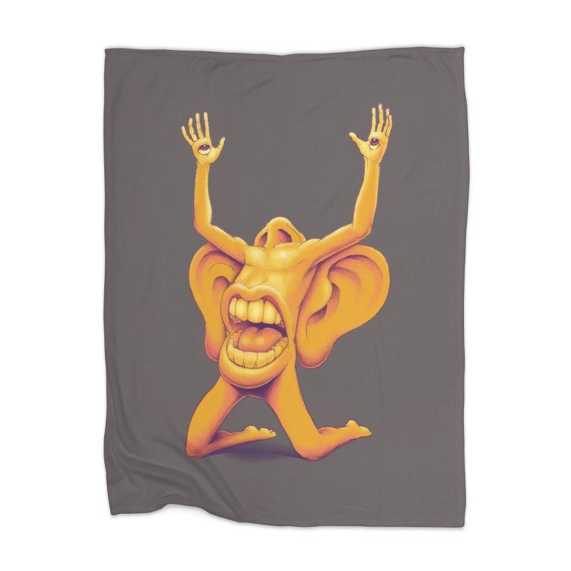 Sensory Overload Home Blanket by joshbillings's Artist Shop
