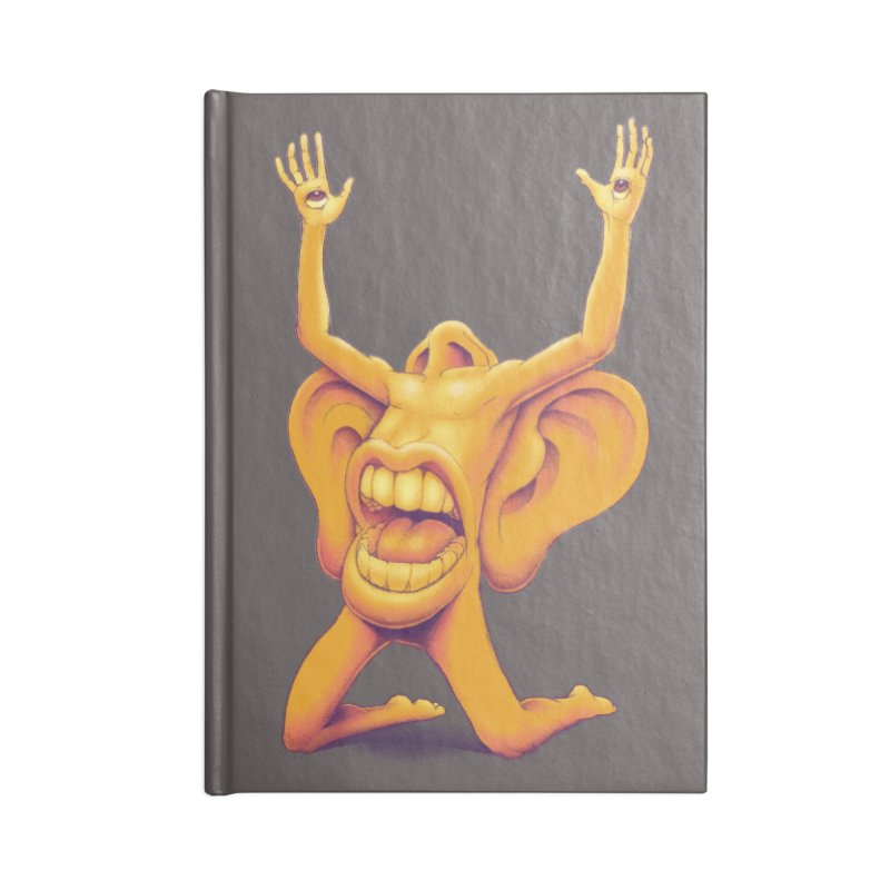 Sensory Overload Accessories Notebook by joshbillings's Artist Shop