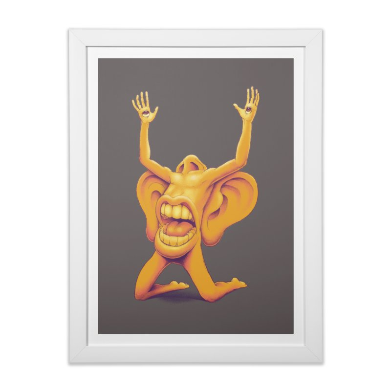 Sensory Overload Home Framed Fine Art Print by joshbillings's Artist Shop