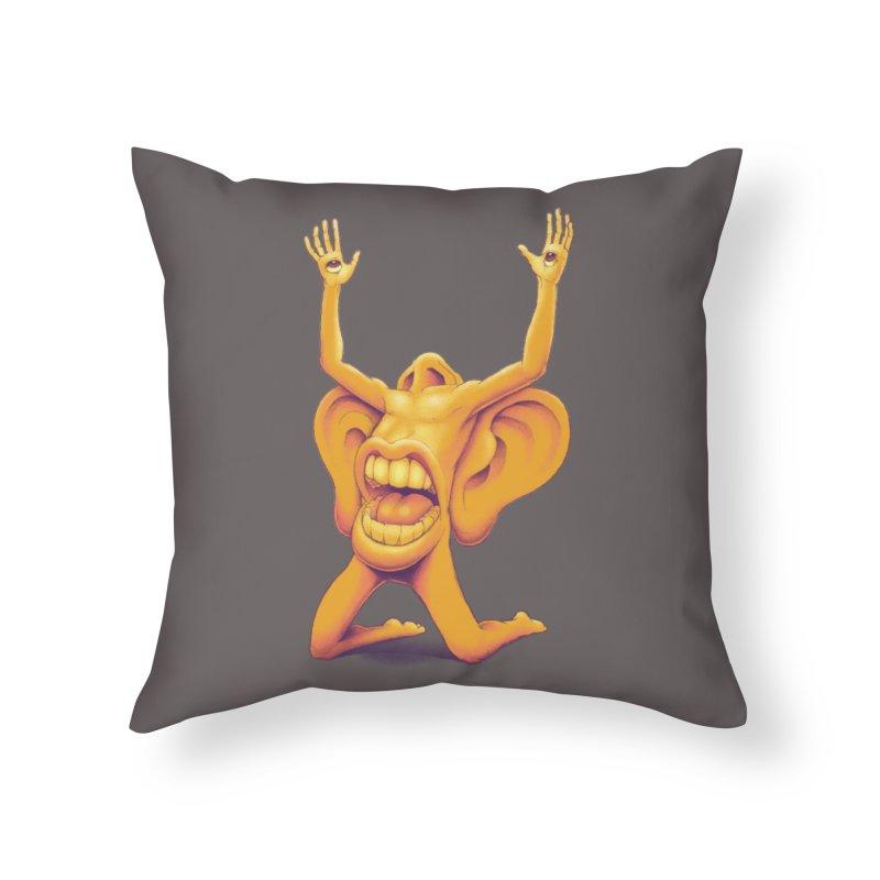 Sensory Overload Home Throw Pillow by joshbillings's Artist Shop