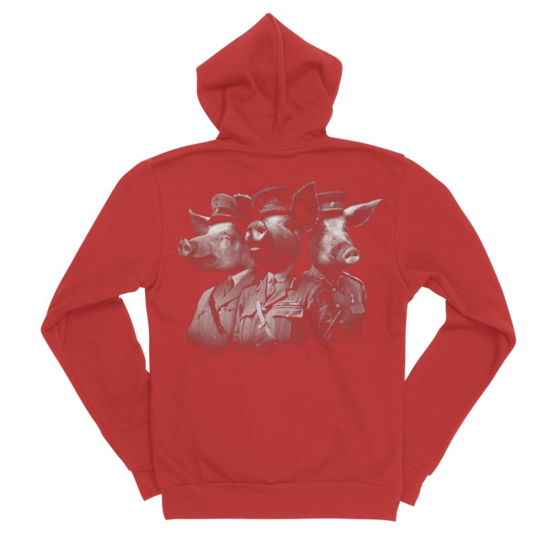 War Pigs Men's Zip-Up Hoody by joshbillings's Artist Shop