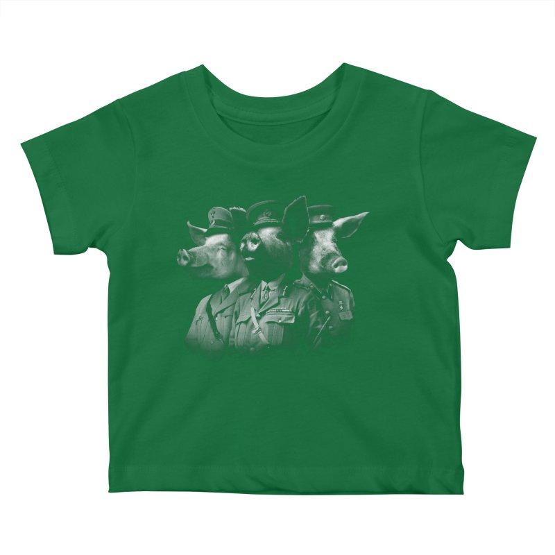 War Pigs Kids Baby T-Shirt by joshbillings's Artist Shop