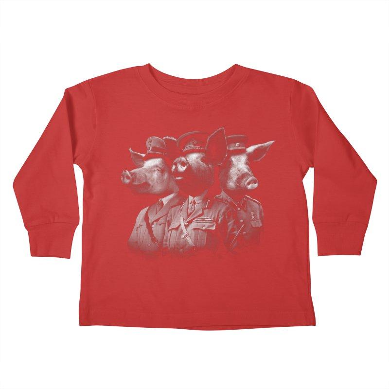 War Pigs Kids Toddler Longsleeve T-Shirt by joshbillings's Artist Shop