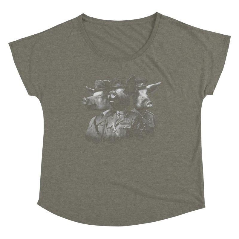 War Pigs Women's Scoop Neck by joshbillings's Artist Shop