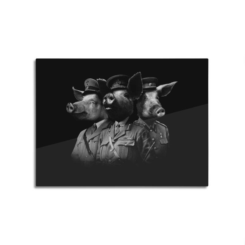 War Pigs Home Mounted Aluminum Print by joshbillings's Artist Shop