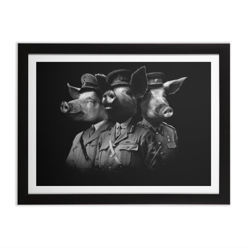 War Pigs Home Framed Fine Art Print by joshbillings's Artist Shop