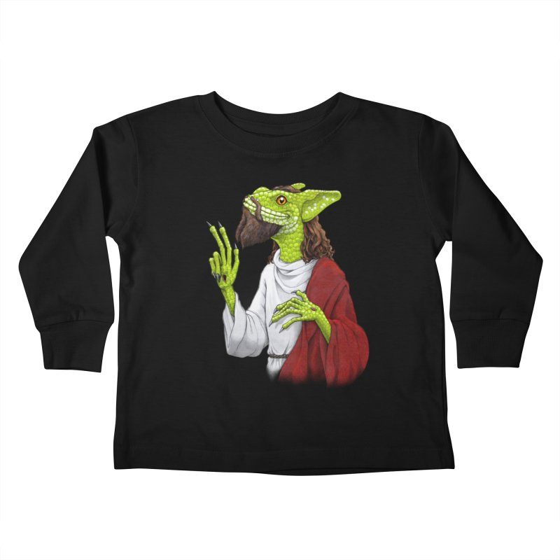 Basilisk Kids Toddler Longsleeve T-Shirt by joshbillings's Artist Shop
