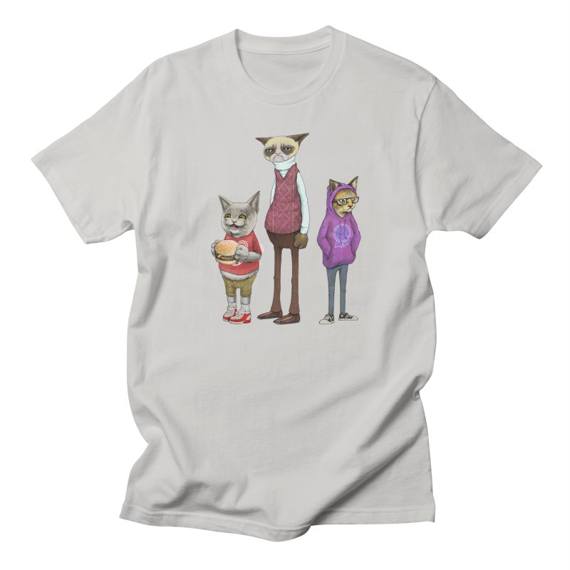 Sum Catz Men's T-shirt by joshbillings's Artist Shop