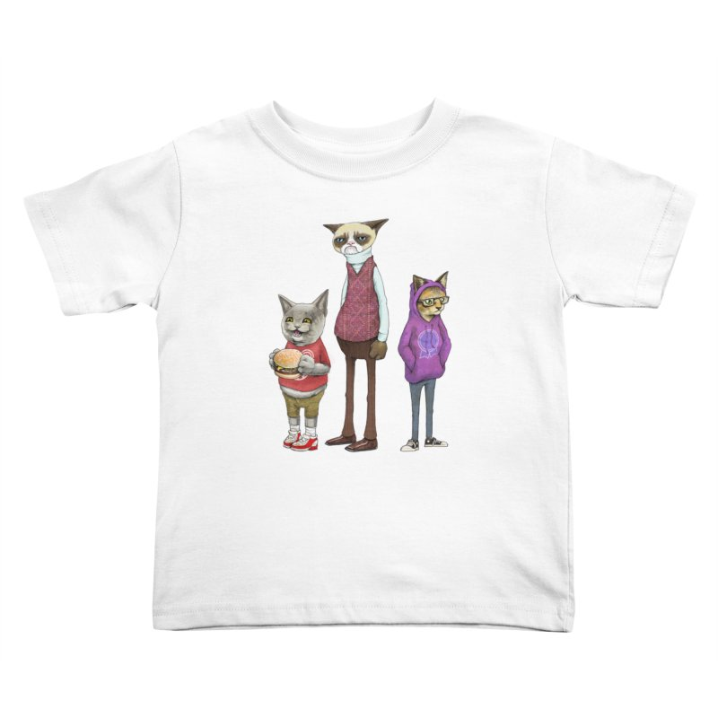 Sum Catz Kids Toddler T-Shirt by joshbillings's Artist Shop