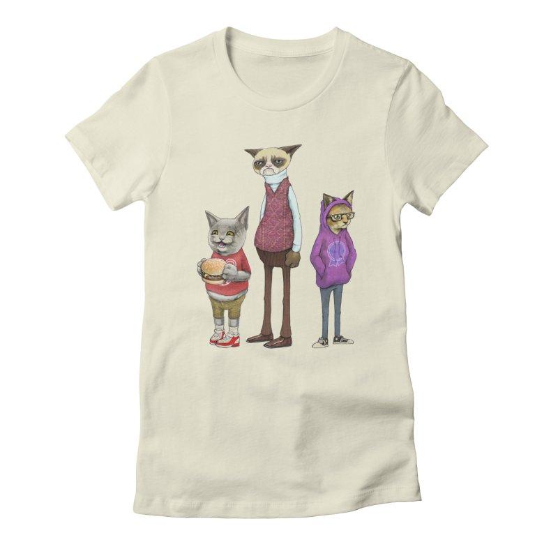 Sum Catz Women's T-Shirt by joshbillings's Artist Shop