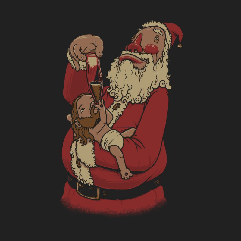 Modern Spirit of Christmas Kids T-Shirt by joshbillings's Artist Shop