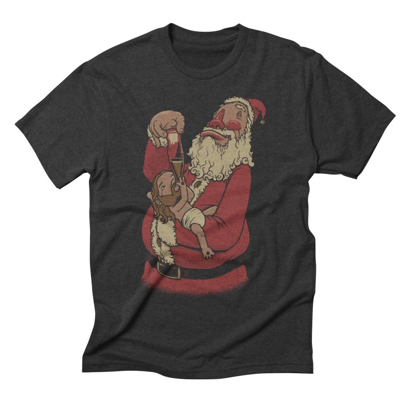 Modern Spirit of Christmas Men's Triblend T-shirt by joshbillings's Artist Shop