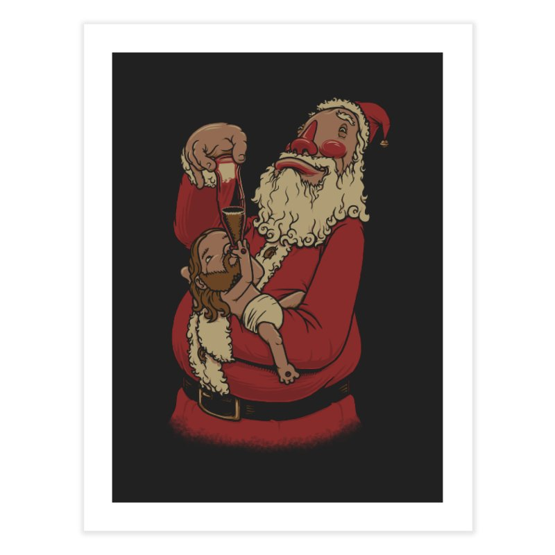 Modern Spirit of Christmas Home Fine Art Print by joshbillings's Artist Shop
